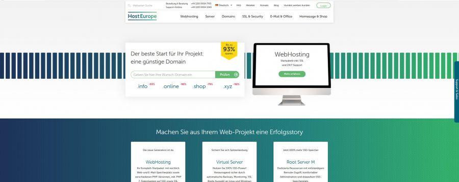 Host Europe Wordpress Hosting Im Test 2019 Expertede